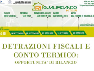 Programma ricco per i workshop di Riqualificando in Tour